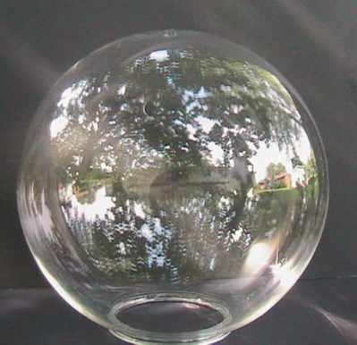 Globes Data Lamp Post Fixtures Balls Plastic Balls From